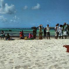 Beach boys. Kenya, Watamu.