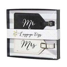 Mr. and Mrs. Luggage Tag Set