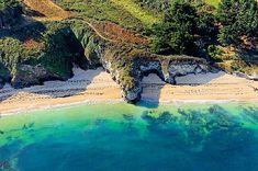 Bordadoué est une petite plage de sable bien agréable et protégée des vents, sur Belle-Ile.  © Erwan Boisecq