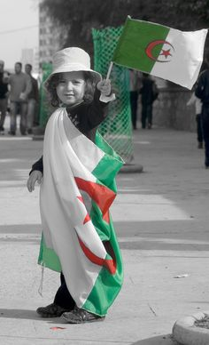Algerian child - LOVE the use of selective colouring here; it's very powerful!