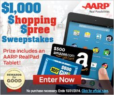 ~ Enter To #Win A $1000 Shopping Spree + Earn Points For Super #Rewards! #Sweepstakes