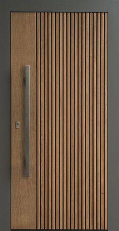 ideas main door design modern decor for 2019 Room Door Design, Door Design Interior, Wooden Door Design, Wooden Doors, Modern Interior Doors, New Door Design, Flush Door Design, Wooden Main Door Design, Brown Interior