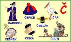 ABECEDA PÍSMENO Č Alphabet, Education, School, Google, Speech Language Therapy, Alpha Bet, Onderwijs, Learning