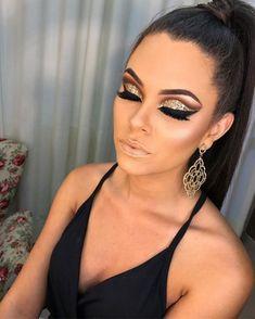 make up morenas Purple Eye Makeup Eye morenas New Year's Makeup, Glam Makeup Look, Eye Makeup Art, Cute Makeup, Gorgeous Makeup, Pretty Makeup, Glamorous Makeup, Dramatic Eye Makeup, Smokey Eye Makeup