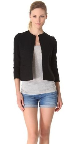 Vince Boucle Cropped Jacket     $345.00