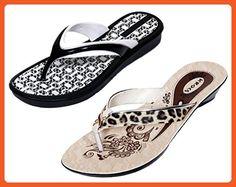 Krocs Super Comfortable Flip flop For Women (Pack of 2 Pairs) - Sandals for women (*Amazon Partner-Link)