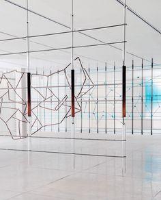 Ronan and Erwan Bouroulle, 17 screens at the Tel Aviv Museum of Art (2015)