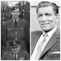 Michael Rennie was born in Yorkshire in 1909. Originally a car salesman he changed career to acting after winning a part in a 1936 Alfred Hitchcock Film. During World War Two he joined the RAF Volunteer Reserve as a Pilot Officer in 1941 training as a fighter pilot in the U.S.A. He was promoted to Flying Officer in 1943. He became a flight instructor until 1944 when he returned to making moral boosting films. after the War he moved to find fame as a film and T.V actor in Hollywood.