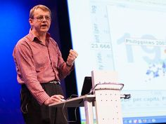 How much do you know about the world? Hans Rosling, with his famous charts of global population, health and income data (and an extra-extra-long pointer), demonstrates that you have a high statistical chance of being quite wrong about what you think you know. Play along with his audience quiz — then, from Hans' son Ola, learn 4 ways to quickly get less ignorant.