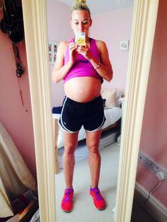 Baby Bump 36 Weeks - 10st 10lb