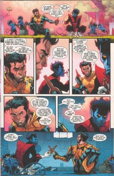 Nightcrawler  Wolverine 3/3 from Nightcrawler #3 (Jun 2014)