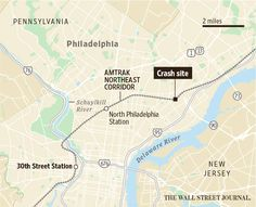 Map: Site of the Amtrak derailment that left at least 6 dead http://on.wsj.com/1G6BjYR  via @WSJ