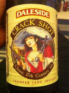 Daleside Brewery - Crack Shot Classic 17th Century ale 5,5% pullo (trooper Jane Ingilet)
