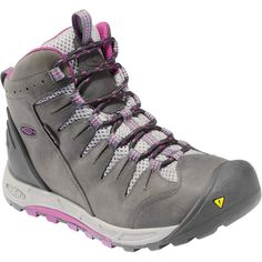 The women s KEEN Bryce Mid WP hiking boots provide waterproof protection  and nimble support for comfort when tackling your favorite day hike or  trekking the ... 51a6db97ff
