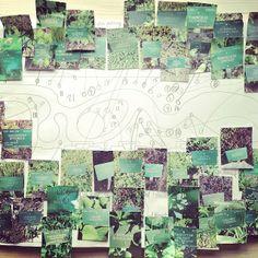 Perennial planning in the new garden of #museumofcopenhagen  Gardenconcept by Barbara Cooper #urbangarden #intersections #urbannature #shari...