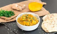 Mango-Chicken-Curry mit Gewürzreis