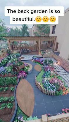 Garden Yard Ideas, Backyard Patio Designs, Terrace Garden, Garden Projects, Garden Ideas With Stones, Front House Garden Ideas, Front Yard Ideas, Cool Backyard Ideas, Cool Garden Ideas