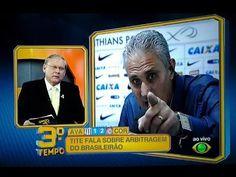 Tite do Corinthians Calando a Boca de Milton Neves