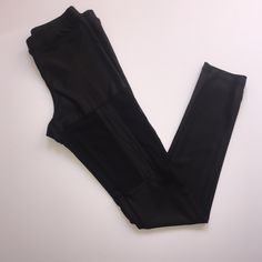 forever 21 faux leather cut-out leggings Faux leather leggings with sheer around the thighs to show a little skin. Super cute on with some ankle booties and loose- shifted top. Good shape. All offers are welcome! Any questions drop them in the comments! Xoxo Forever 21 Pants Leggings