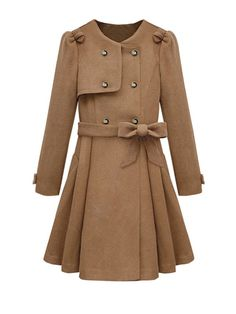 Elegant Single Breasted Slim Long Sleeve Coat --  $38.99, from JollyChic.com  (such a cute coat, for a slim girl)