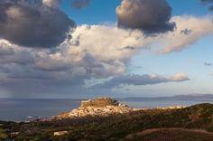 View of Castelsardo, Sardinia, Italy