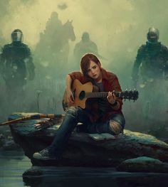 Ellie Grown Up art: Marek Okon