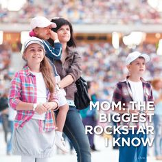 What makes your mom the greatest?   Show her your love & take her to a concert-> http://bit.ly/1ckYkvd #LiveNation #HappyMothersDay