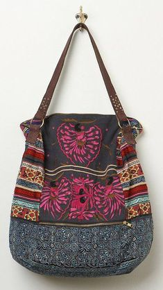 Free People Multicolor Indian Summer Hobo