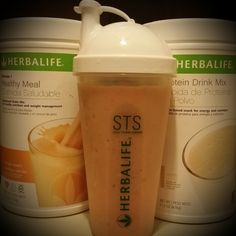 Orange Cream Formula 1 + vanilla protein drink mix,  add some  frozen strawberries, mangos, and pineapple = yum! Quick healthy and great tasting!