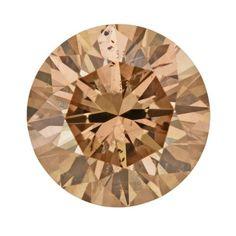 1.14 Carat Cinnamon Color Loose Natural Fancy Brown Diamond | Round Brilliant Sl2 Clarity