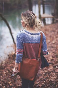 Love the shirt and satchel.