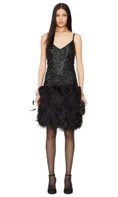Beaded Tasha Dress - Black Label  Sale - RalphLauren.com