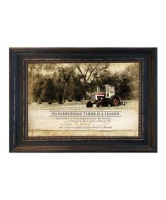 Look at this 'There Is a Season' Framed Wall Art on #zulily today!