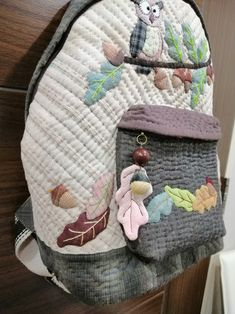 Owl Backpack, Backpacks, Bags, Fashion, Scrappy Quilts, Handbags, Moda, Fashion Styles, Taschen