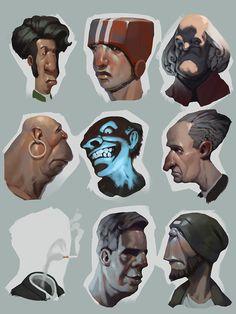"Popatrz na ten projekt w @Behance: ""sketches"" https://www.behance.net/gallery/34465763/sketches"