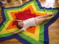 I'm working on a star blanket right now.  A perfect pattern for a Project Linus blanket!