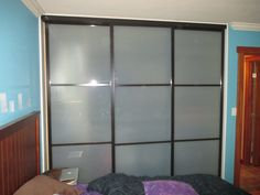 Charming 3 Panel / 3 Track Bypass Closet Door System. Another Word For Bypass Closet  Doors