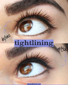 Tightlining can give your eye makeup a much more professional and pulled together look. Click through for my top tips on how to tightline and the 5 best drugstore eyeliners for the job! Eyeliner Hacks, Best Drugstore Eyeliner, Eyeliner Styles, Eyeliner Brush, How To Apply Eyeliner, Best Eyeliner For Waterline, Eyeliner Pencil, How To Clean Makeup Brushes, Eye Makeup Tips