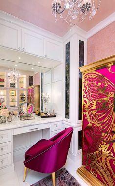 Ideas de decoración de primavera para tu baño | #decorarunacasa #tendencias #primavera #decoracióndebaño #armario #koket | ve más en: www.decorarunacasa.es