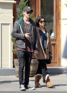 Vanessa Hudgens and Boyfriend Austin Butler Enjoy the Gorgeous Weather in NYC's SoHo