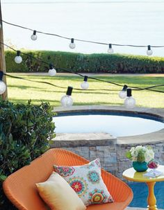 Set the mood for your summer outdoor parties.
