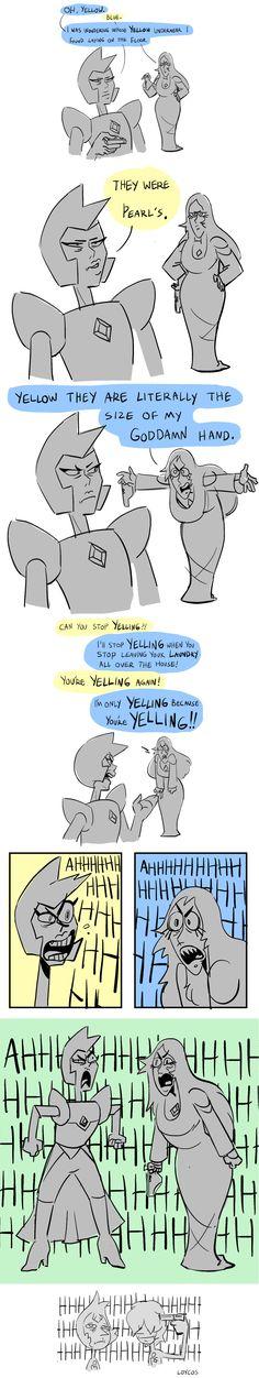 Yelling Diamonds | Steven Universe | Know Your Meme