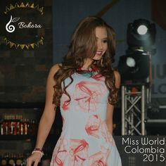 Miss mundo colombia 2015 competition | Participants wearing Bohora on the runway