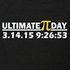 ultimate pi date time funny t shirt