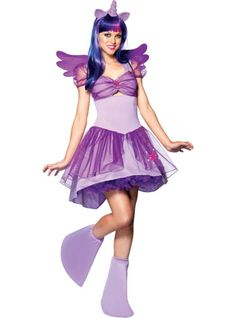 My Little Pony Twilight Sparkle Adult Costume - Halloween Costumes Twilight Sparkle Costume, Princesa Twilight Sparkle, Movie Halloween Costumes, Adult Costumes, Costumes For Women, Halloween 2016, Spirit Halloween, Halloween Club, Group Costumes