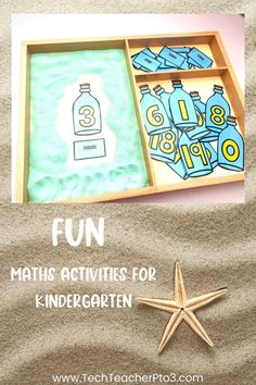 8 fun math activities for kindergarten that include math games and hands-on activities for early years students. Easy to follow and perfect for math lessons or math centres, these activities will keep your students engaged and on tasks with their number work. Fun Math Activities, Kindergarten Math Activities, Preschool Math, Hands On Activities, Kindergarten Classroom, Toddler Preschool, Teacher Resources, Primary School Curriculum, Minecraft Tips