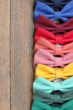 A bow tie for every wedding, in every color