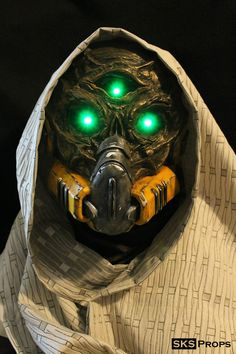 Destiny Hunter exotic Cosplay Mask of the Third by Captainhask
