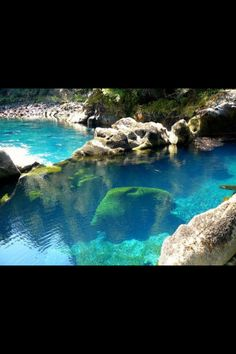 Los pozones hot springs, Chile
