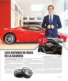 Ocean Drive Panama Junio-Julio 2015  Edición de junio-julio - Entrevista a Luis Antonio de la Roux de La Guardia. Gerente de Posventa del primer Official Ferrari Dealer en Panamá.